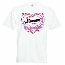 My Mummy Is Valentine Day New Personnalisé Bébé Garçons Filles T-shirt Vêtements