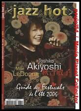 JAZZ HOT #631  TOSHIKO AKIYOSHI, Mike LeDONNE, S.COWELL