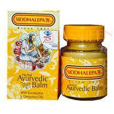 herbal ayurvedic Siddhalepa Balm for headaches bone muscle cold flu aches relief