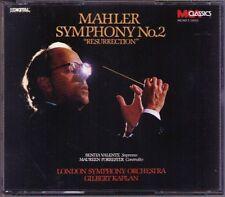 Gilbert Kaplan: MAHLER SYMPHONY NO. 2 Resurrection MCA 2cd 1988 Valente Forrester