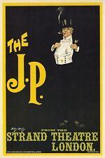 AP59 Vintage 1898 The J P London Strand Theatre Advertisement Poster A1/A2/A3/A4
