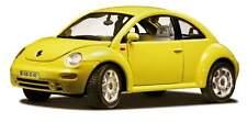 BURAGO 1:18 AUTO DIE CAST VOLKSWAGEN NEW BEETLE 1998 GIALLA 3302