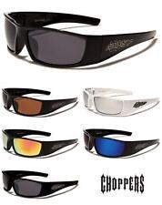 Choppers Mens Wrap Riding Biker Driving Stylish Sunglasses - ch127