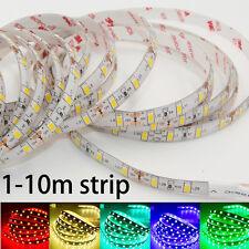 5m 5630 5730 SMD Led Strip Light DC 12V Waterproof 300 LED 3M Tape flexible lamp