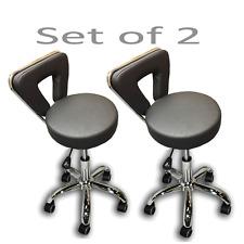 Stool Equipment Nail Tattoo Facial Beauty Salon Chair /  Set of 2