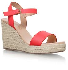 Ex Miss Kurt Geiger Paulina Pink Summer Ankle Strap Sandals Variety Size RRP £65