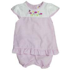 Bébé Filles Pretty Princess 2pc Rose Cap manches robe & Bouffantes Set. âges: 0-9Mth