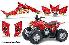 AMR RACING ALL TERRAIN QUAD STICKER WRAP ATV GRAPHIC KIT HONDA TRX 90 06-16 VBR