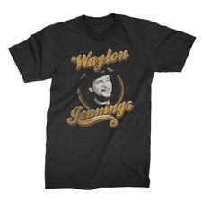 Authentic WAYLON JENNINGS Head Shot T-Shirt S M L XL 2XL NEW
