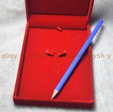 Red Luxury Velvet Jewelry Bracelet Necklace Deluxe Jewelry Presentation Gift Box