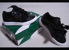 Puma Basket Heart Glam PS Black White Gr. 28 29 31 Neu 363894 01 weiss schwarz
