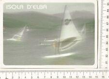 CARTOLINA ISOLA D'ELBA CAPOLIVEERI WINDSURF F9511