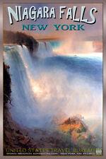 NIAGARA FALLS New York Retro Maid o the Mist Travel Poster-4 sizes-Art Print 182