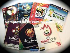 Panini EM Komplettset WM Euro 2016 2012 2008 2004 2014 2010 2006 2002 aussuchen