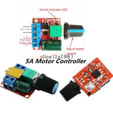 Mini DC 3V-35V 5V-35V 5A Motor PWM Speed Control Switch Controller LED Dimmer