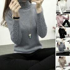 Outwear Knitted Autumn Sleeve Warm Jumper Pullover Sweater Winter Tops Women's