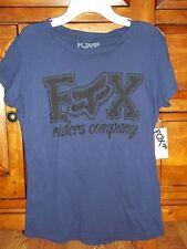 Fox Riding Company Womens/Teen Tee T-Shirt Size Large BNWT