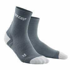 CEP Run ULTRALIGHT SHORT SOCKS Men grey/light grey |WP5BJY| Plus Kompression