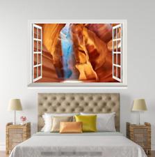 Cueva de visión de 3D 0057 ventanas abiertas impresión de pared de papel pintado wandbilder AJ Jenny