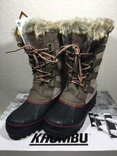 Khombu Womens North Star Winter Boots Waterproof ~ Tan ~ Various Sizes