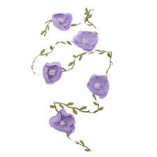 Artificial Flower Leaves Vine Garland Wedding Nursery Wall Hanging Decor Craft