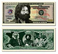 Jerry Garcia Million Dollar Bill 1 5 10 15 20 25 30 35 40 50 100