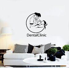 Vinyl Decal Wall Sticker Dental Clinic Dentist Teeth Decor Unique Gift (g112)