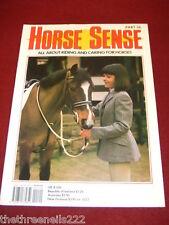 HORSE SENSE # 36 FRENCH TROTTER