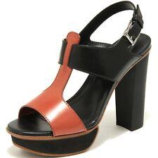 55464 sandalo TOD'S SAND. PLATEAU C. RFT FASCE scarpa donna shoes women