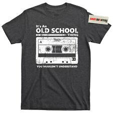 Cassette tape pencil boombox VHS 80s eighties Yo MTV Raps hip hop party T Shirt