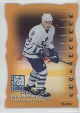 1997-98 Donruss Elite Promos Gold Die-Cut Status #117 Alyn McCauley Hockey Card