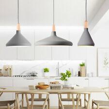 Kitchen Pendant Light Wood Lamp Bar Pendant Lighting Grey Modern Ceiling Light