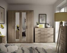 Medina Bardolino Oak Ready Assembled Bedroom Furniture Complete Range