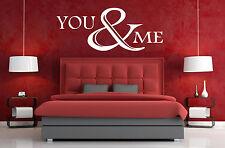 Lei & Me Wall Art / Decalcomania Citazione Adesivo-cucina / soggiorno / camera da letto!!!