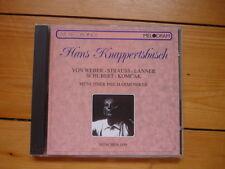 Hans Knappertsbusch WEBER J. STRAUSS LANNER SCHUBERT KOMCAK Münchner Philharmon