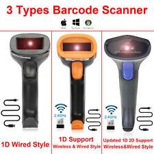 2D Barcode Scanner USB Wired 1D 2D Datamatrix PDF417 QR Code Handheld Reader US