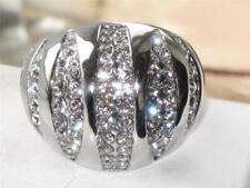 Tk1430pb cupola frizzante zirconi qualità AAA grosso anello di fidanzamento