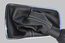 Se adapta a Citroen C5 08 + Cuero Genuino Gear Polaina Blanco St