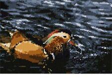 Mandarin Duck Needlepoint Kit or Canvas (Animal)