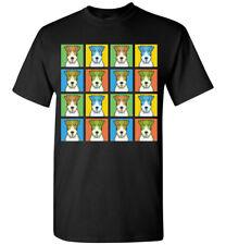 Wire Fox Terrier Cartoon Pop T-Shirt Tee, Men Women Youth Tank Short Long Sleeve
