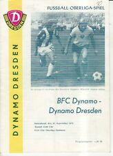OL 74/75 SG Dynamo Dresden - BFC Dynamo Berlin