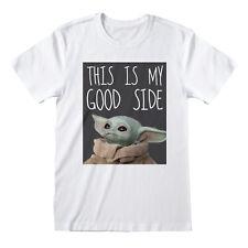Star Wars les Mandaloriens enfant bébé Yoda 3D imprimé chiffre blanc