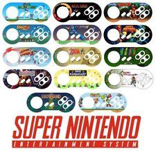 Super Nintendo SNES Controller Sticker Vinyl Decal -NO Video Game Console Custom