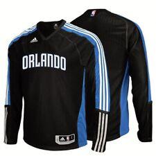 NEW Men S M XL ADIDAS Orlando Magic On Court Black L/S Basketball Shooting Shirt