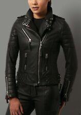 JL11 Biker leather jacket coat perfecto sturdy geniune leather custome made GTC
