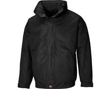 Dickies Cambridge Black Waterproof Breathable Fleece Lined Jacket JW23700