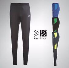 Mens Karrimor Reflective Running Tights Pants Sizes S M L XL XXL