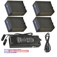 Kastar Battery Dual D-Type Fast Charger for Sony BP-U65 BC-U1 U2 Sony PMW-EX1R