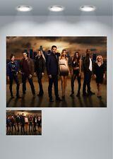Lucifer TV Series Cast Large Poster Art Print