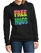 Free Hugs Hoodie Sweater Hooded Sweatshirt New